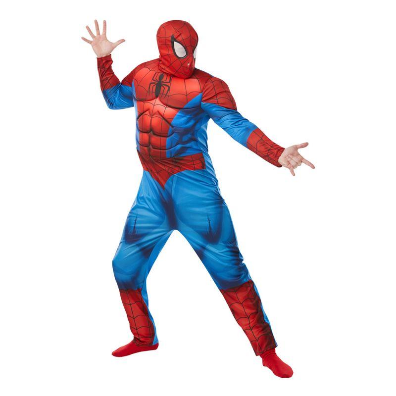 Bild på Spiderman Deluxe Maskeraddräkt - Standard