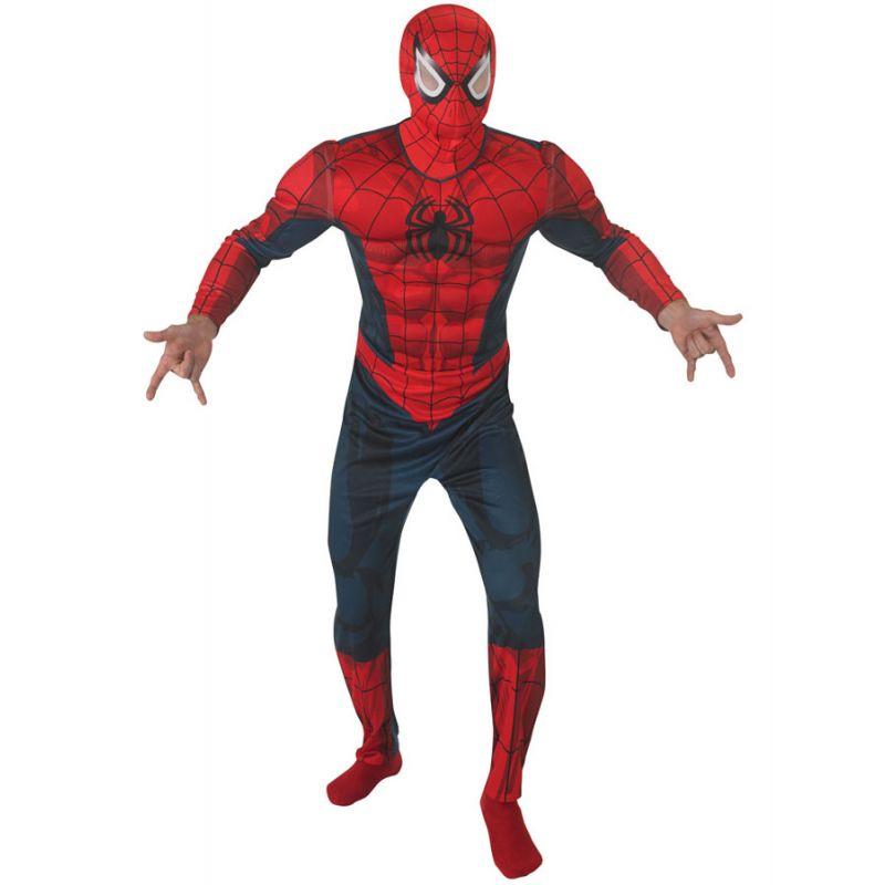 Bild på Spiderman Dräkt med Muskler (Standard)