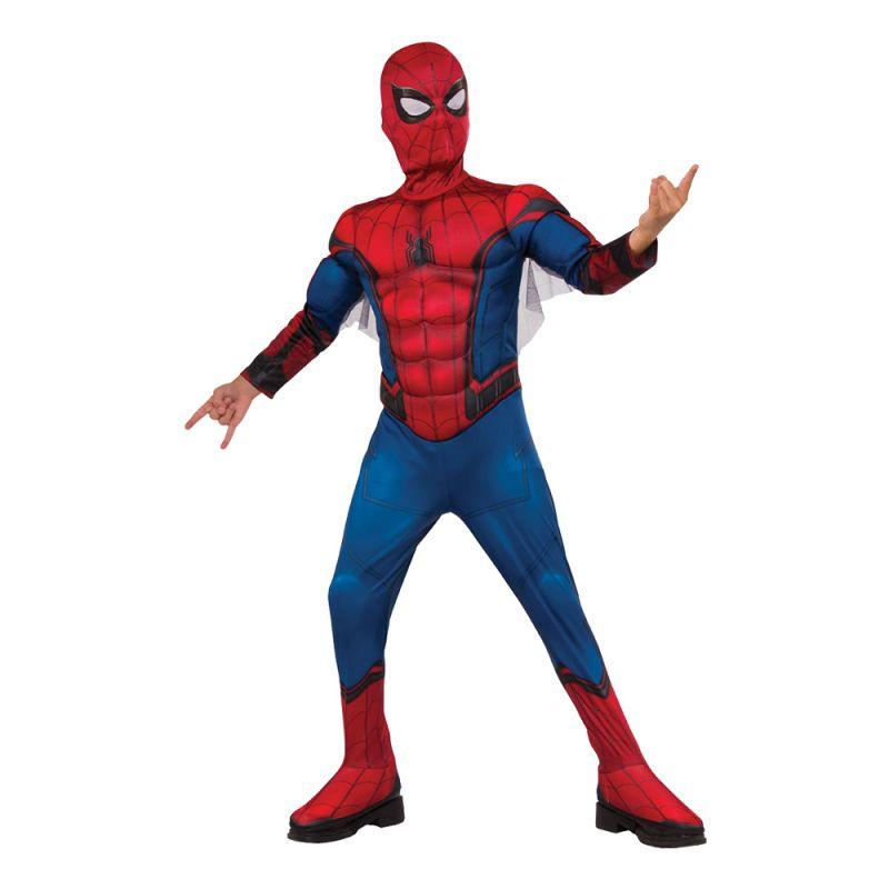 Bild på Spiderman Homecoming Deluxe Barn Maskeraddräkt - Small
