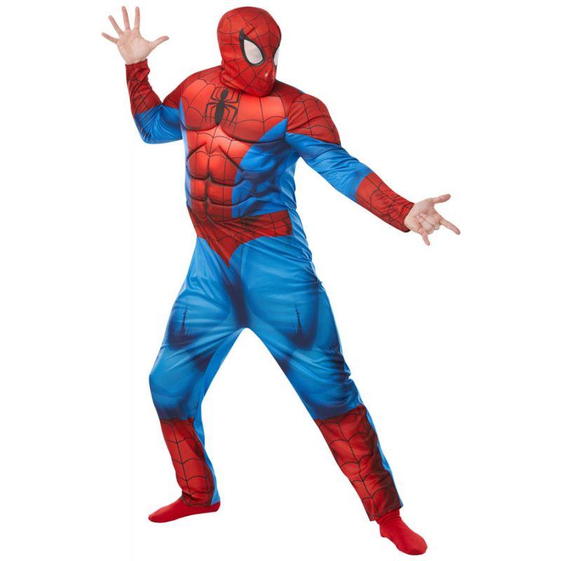 Bild på Spiderman Maskeraddräkt Deluxe (Standard)