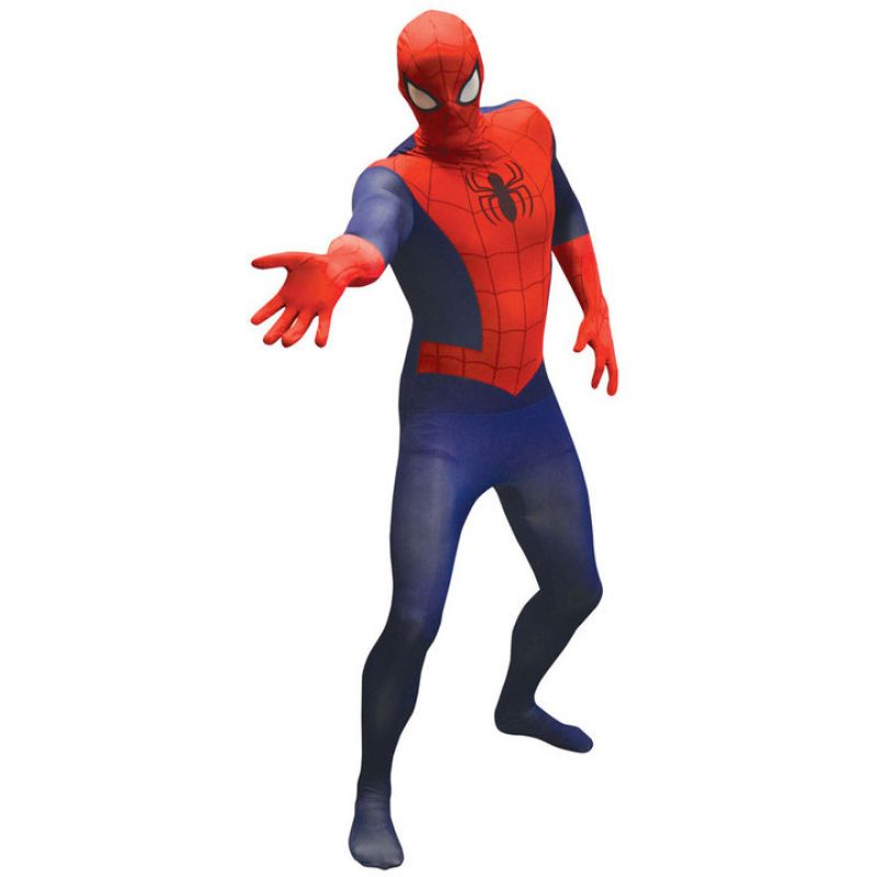 Bild på Spiderman Morphsuit Maskeraddräkt Medium