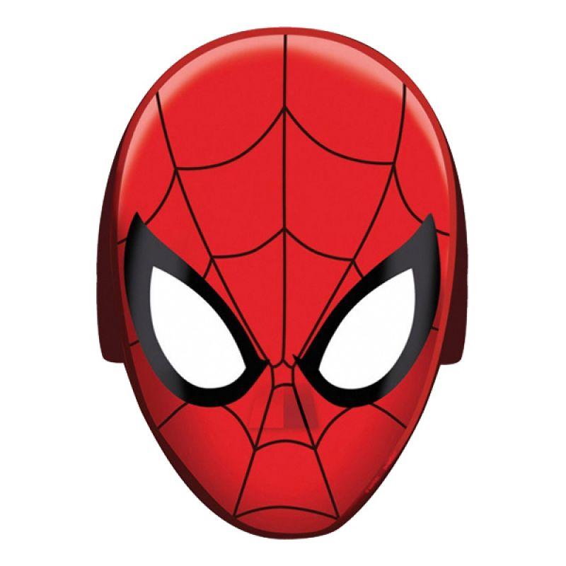 Bild på Spiderman Pappmasker - 8-pack