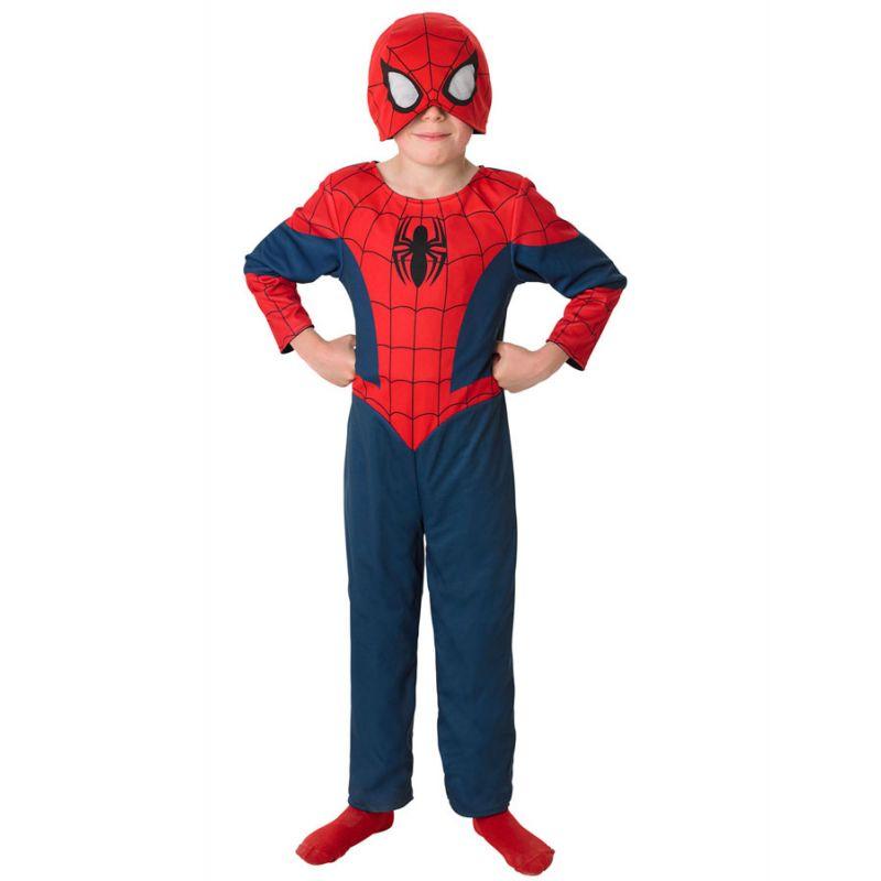 Bild på Spiderman Vändbar Dräkt Barn (Small (3-4 år))
