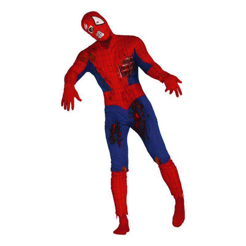 Bild på Spiderman Zombie Maskeraddräkt - Medium