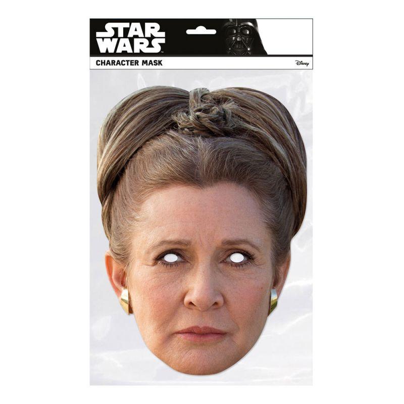 Bild på Star Wars Leia Pappmask - One size