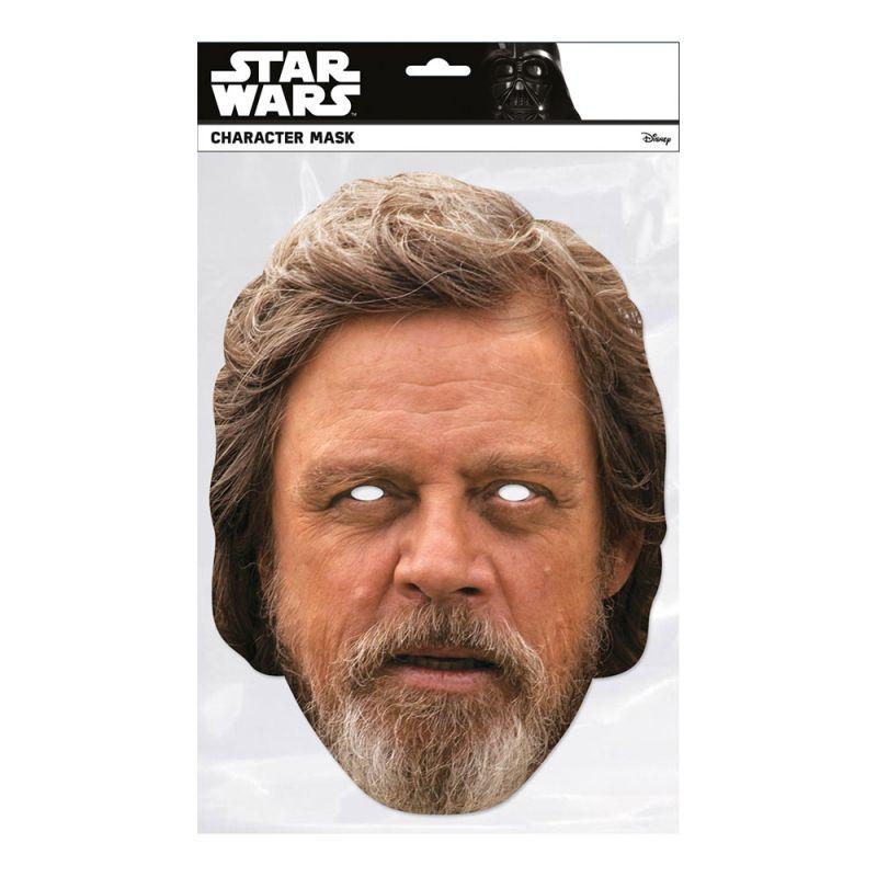 Bild på Star Wars Luke Skylwalker Pappmask - One size