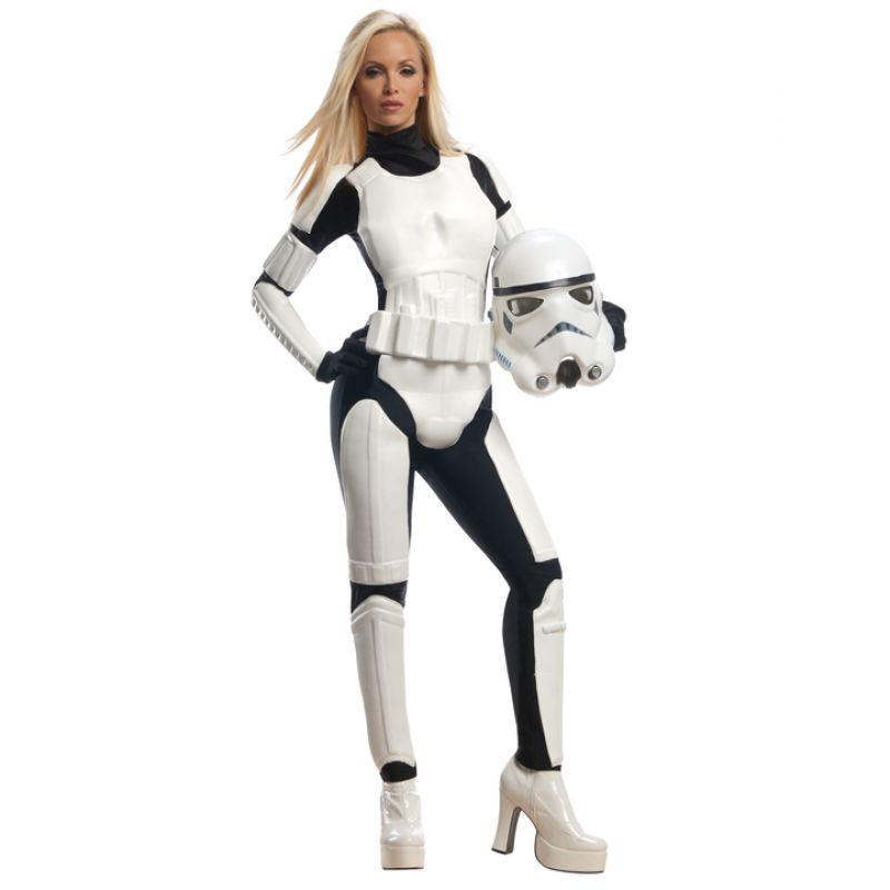 Bild på Stormtrooper Maskeraddräkt Dam Large