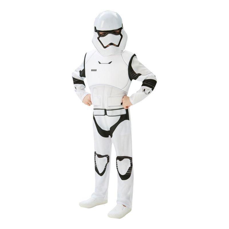 Bild på Stormtrooper TFA Deluxe Barn Maskeraddräkt - Medium