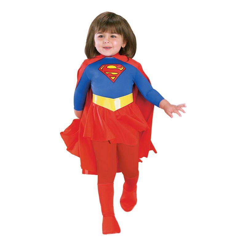 Bild på Supergirl Barn Maskeraddräkt - Small