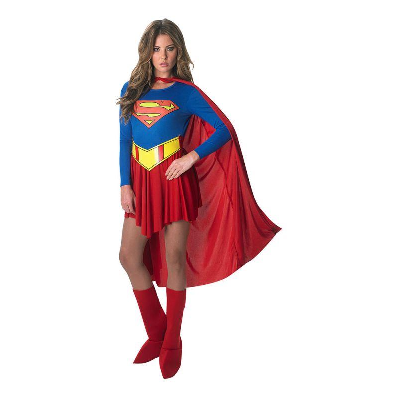 Bild på Supergirl Klassisk Maskeraddräkt - Medium