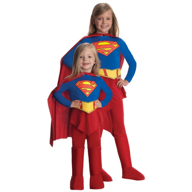Bild på Supergirl Maskeraddräkt Barn Medium