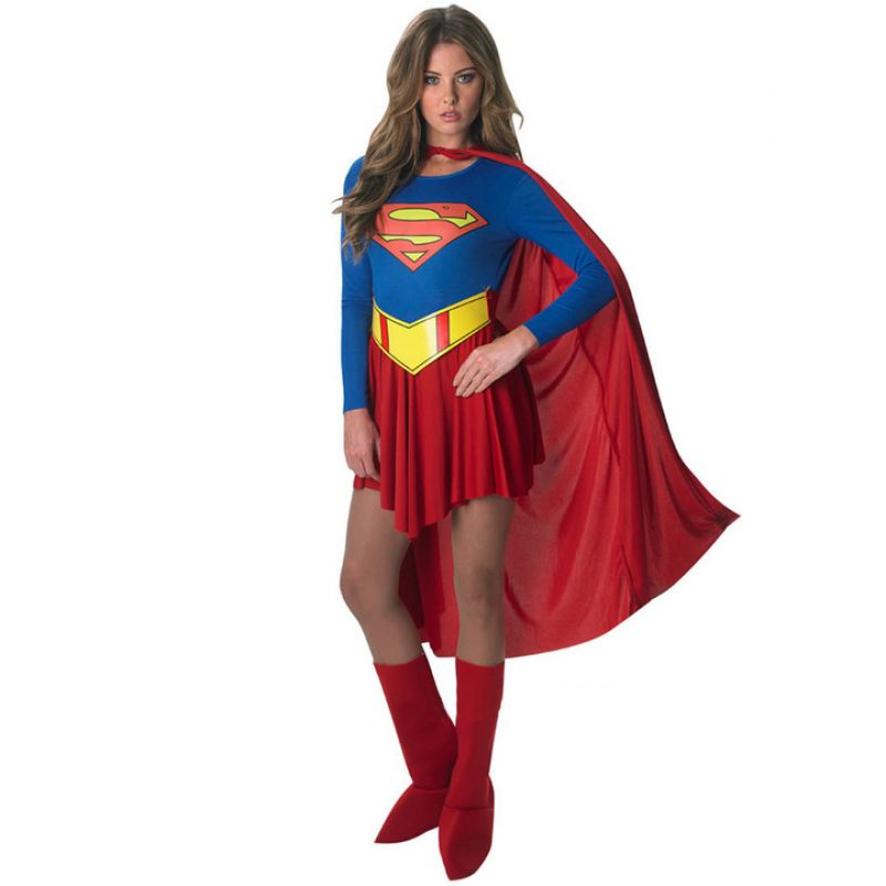 Bild på Supergirl Maskeraddräkt Medium