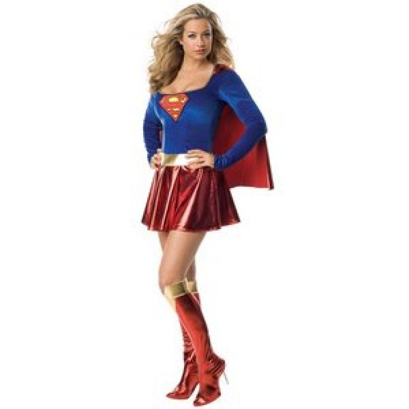 Bild på Supergirl / Superwoman maskeraddräkt