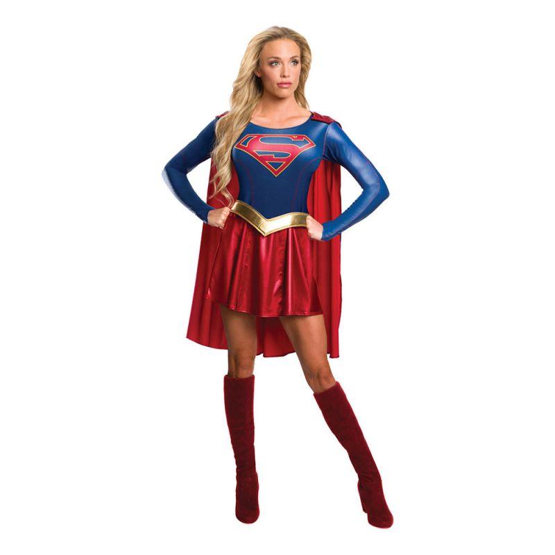 Bild på Supergirl Tv-Serie Maskeraddräkt - Small