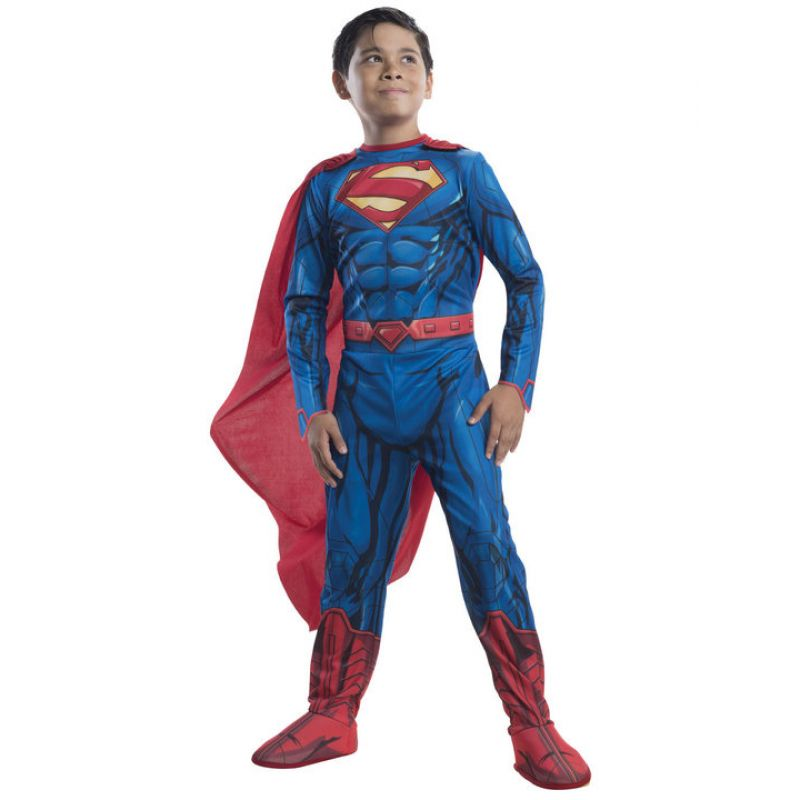 Bild på Superman Maskeraddräkt Barn Madium