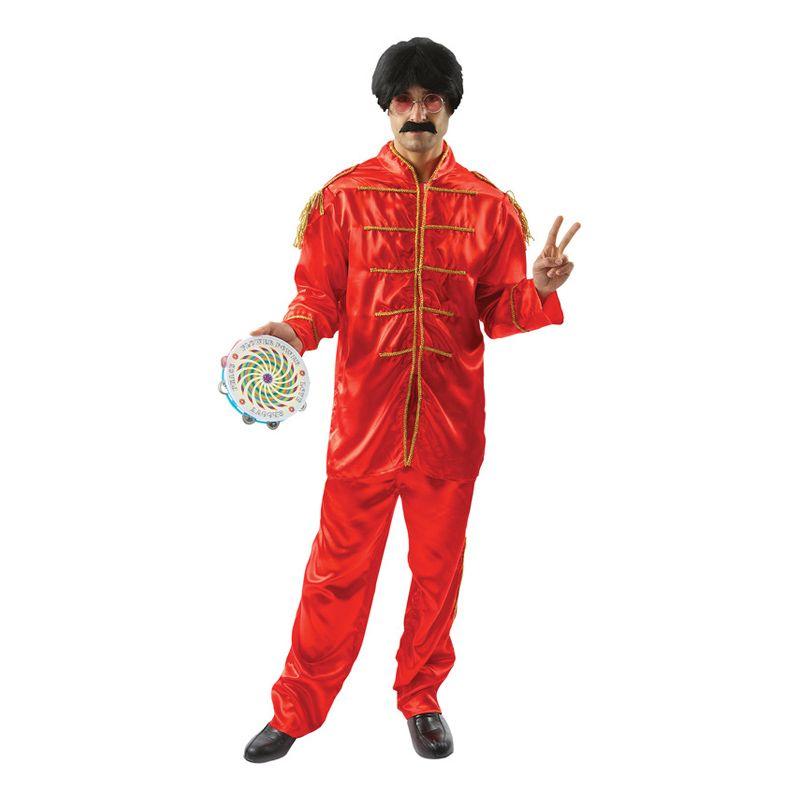 Bild på The Beatles Röd Maskeraddräkt - One size