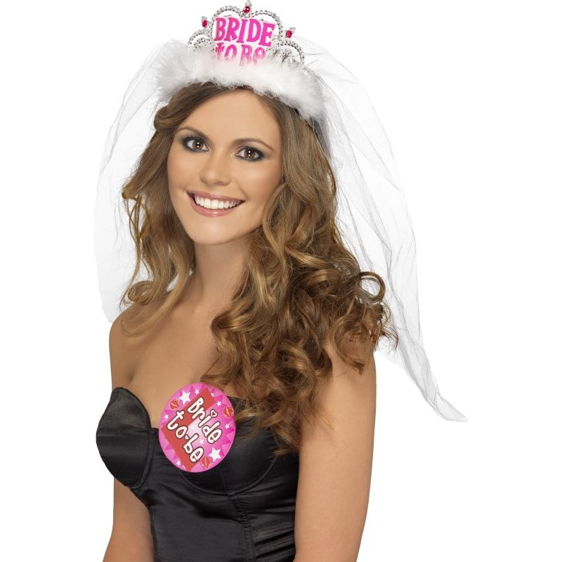 Bild på Tiara Bride To Be med Slöja