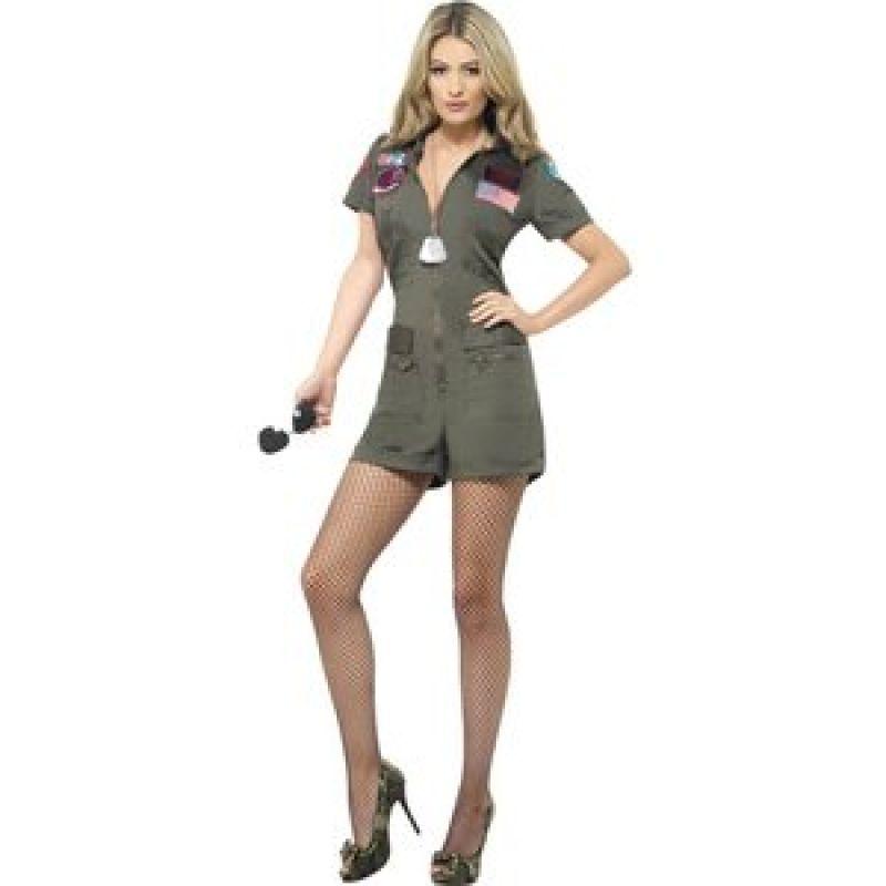Bild på Top Gun pilot maskeraddräkt