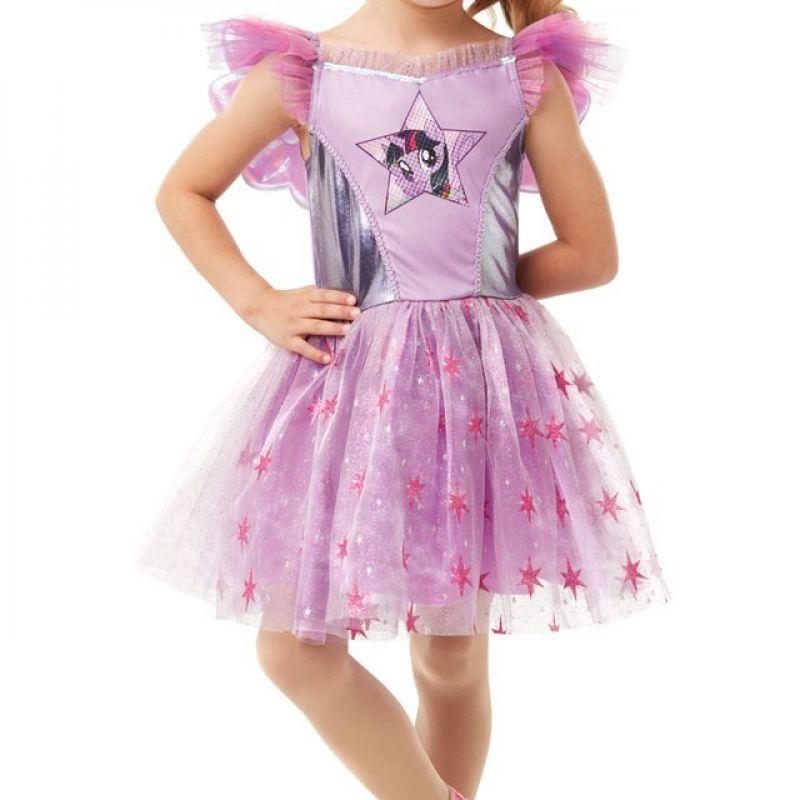 Bild på Twilight Sparkle Deluxe, Maskeraddräkt Barn (Small) - Small