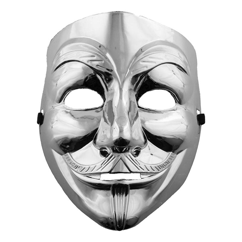 Bild på V For Vendetta Mask Silver - One size