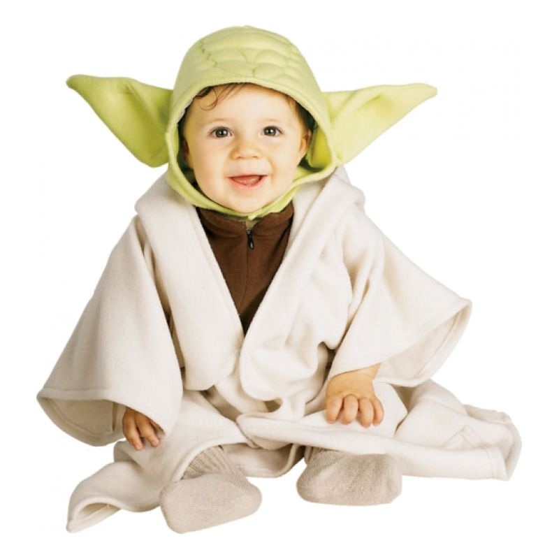 Bild på Yoda Bebis Maskeraddräkt - One size