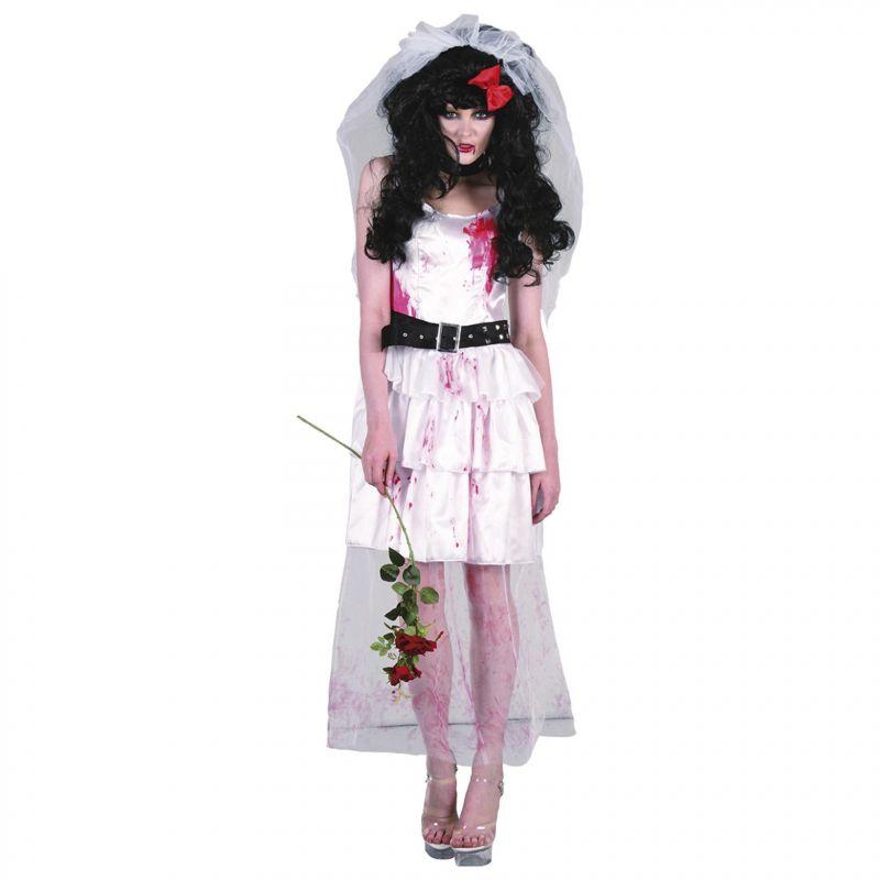 Bild på Zombie Bride Maskeraddräkt