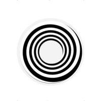 Bild på 1 -dags svart spiral kontaktlinser