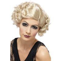 Bild på 1920-tals Flirty Flapper peruk blond