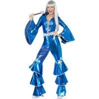 Bild på 1970's Dancing Dream maskeraddräkt, blå