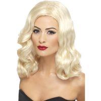 Bild på 20-tals Blond Peruk