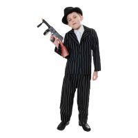 Bild på 20-tals Gangster Barn Maskeraddräkt - Small