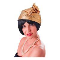 Bild på 20-tals Hatt med Ros Guld - One size