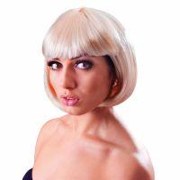 Bild på 20-tals Kort Blond Peruk