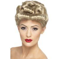 Bild på 40-tals Klassisk Blond Peruk