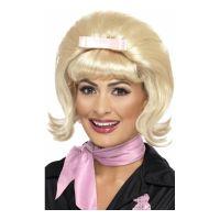 Bild på 50-tals Blond Peruk med Rosett - One size
