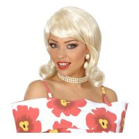 Bild på 50-tals Flip Blond Peruk - One size