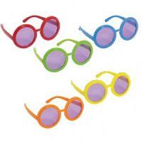 Bild på 60-tals hippie glasögon - 10 st