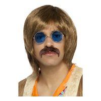 Bild på 60-tals Hippie Perukset - One size