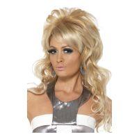 Bild på 60-tals Lång Blond Peruk - One size