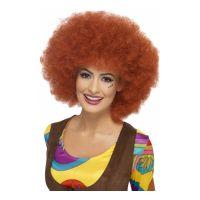 Bild på 60-tals Rödbrun Afroperuk - One size