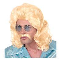 Bild på 70-tals Blond Perukset