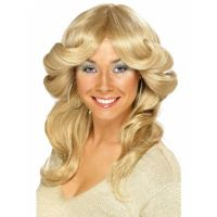 Bild på 70-tals Peruk Blond