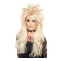 Bild på 80-tals Blond Rockperuk - One size