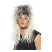 Bild på 80-tals Hårdrockare Blond Peruk - One size