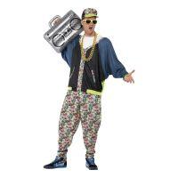 Bild på 80-tals Hip Hop Maskeraddräkt - One size