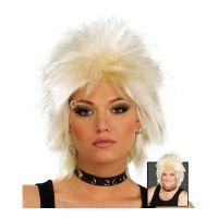 Bild på 80-tals Rockidol Blond Peruk - One size