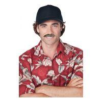 Bild på 80-tals TV-Detektiv Mustasch