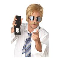 Bild på Ace Blond Detektiv Peruk - One size