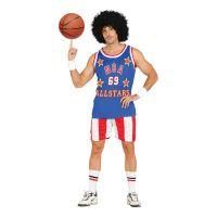 Bild på Amerikansk Basketspelare Maskeraddräkt - Medium