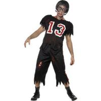 Bild på Amerikansk fotbollsspelare zombie maskeraddräkt